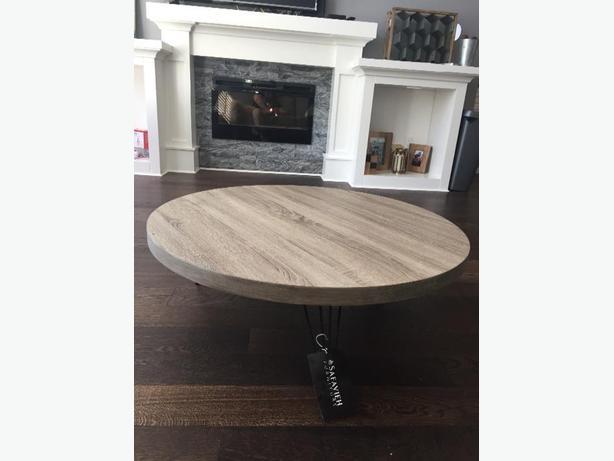 Coffee Table (Grey Black Finish)