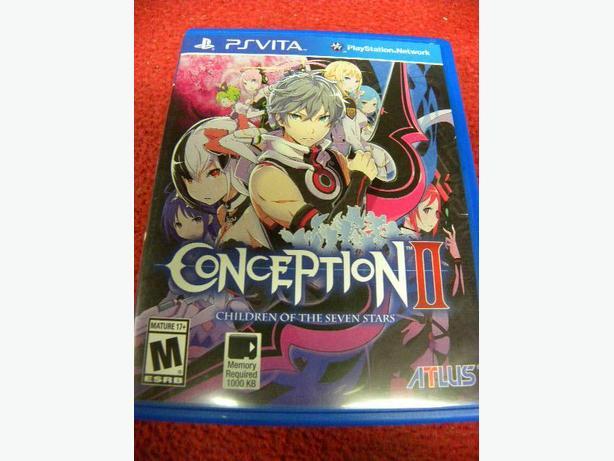 Conception II Children of the Seven Stars for PS Vita console
