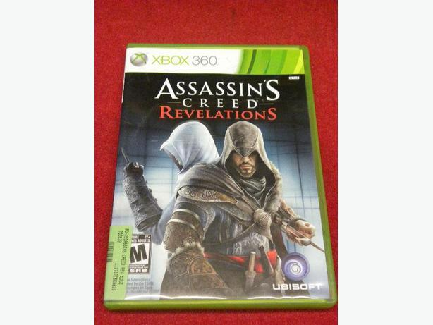 Assassins Creed Revelations for the Xbox 360 console