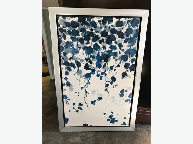 framed canvas art - brand new