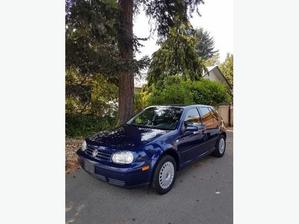 2001 Volkswagen golf 2.0l