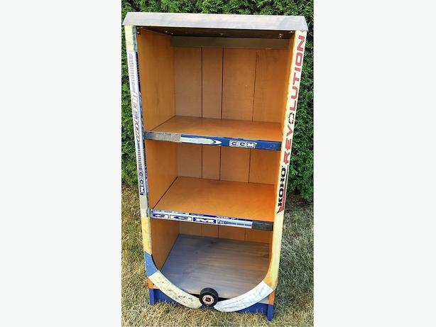 Bookcase- Hockey Inspired!