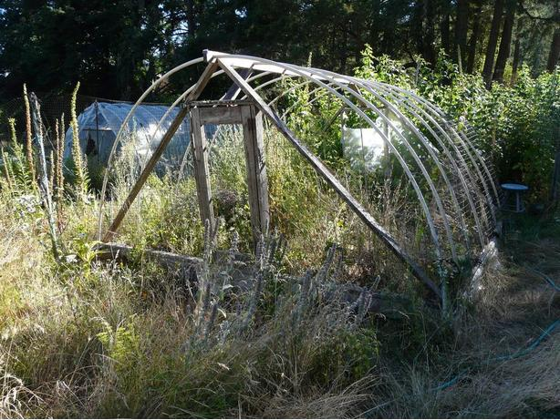 GREENHOUSE FRAME ~  good for growing tomatoes or winter crops etc.