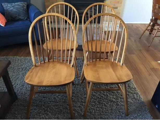 6 Chairs - $25 each