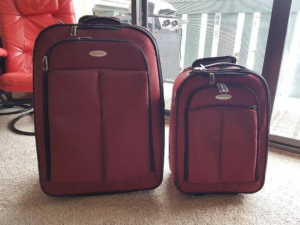 Samsonite Rhapsody Luggage - Large and Carry-on Size