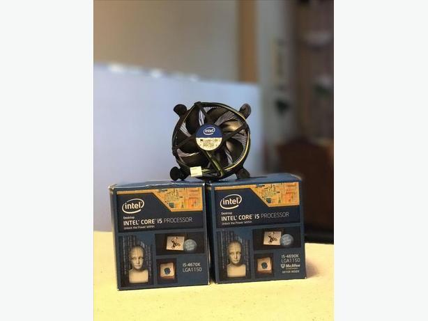 [Moving Sale] x2 Brand new Intel CPU heatsink w/ fan