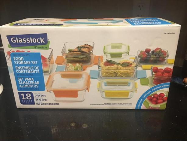 Costco 18 piece glasslock container set