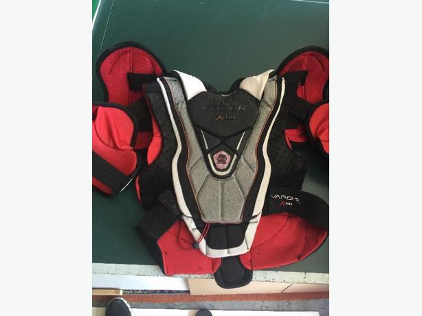boys hockey chest protector