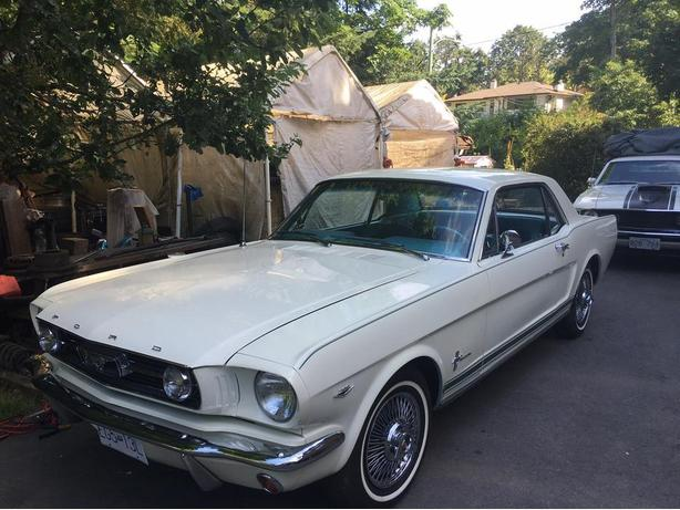 1966 MUSTANG COUPE- RESTORED TO ORIGINAL
