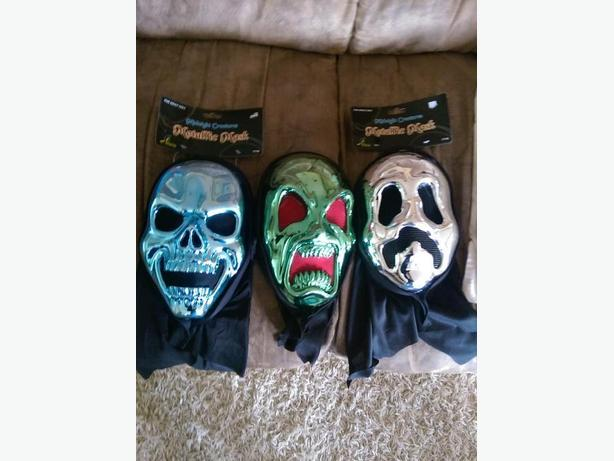 metallic masks