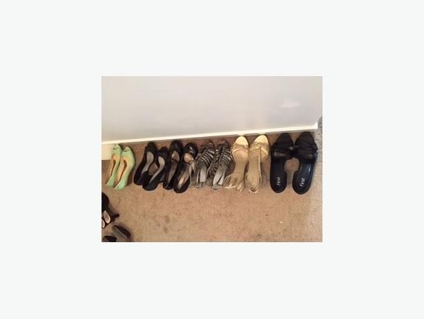 Summer Shoes and Fall Boots Mostly Size 9 and 9.5