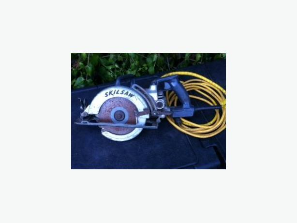 Heavy duty right angle worm drive skil saw.