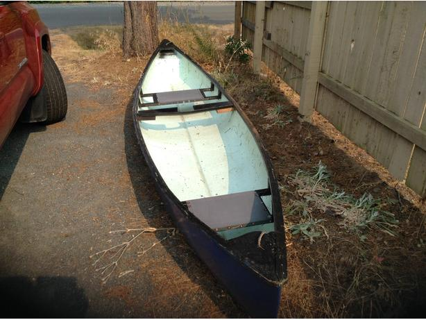 15' fibre glass canoe for sale