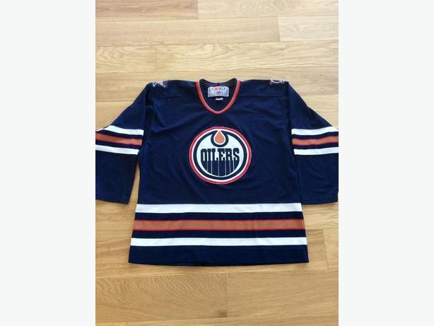 Authentic Vintage Oilers Hockey Jersey Size XL Mens