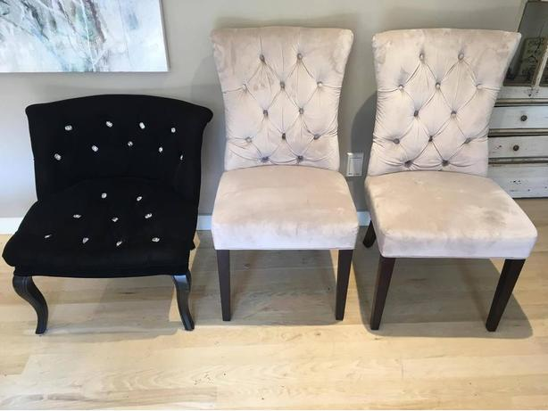 New Traditional, Comfy Black Chair