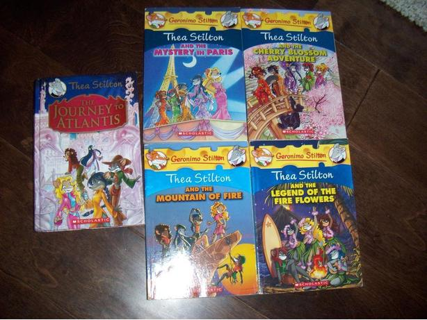 5 geronimo THEA stilton book children's novel