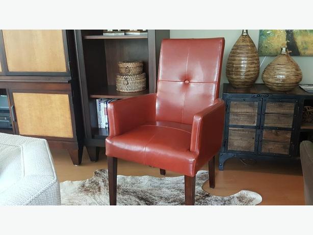 """Nance"" Leather Armchair - Excellent Condition"