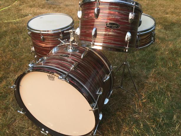 1960's pearl drums
