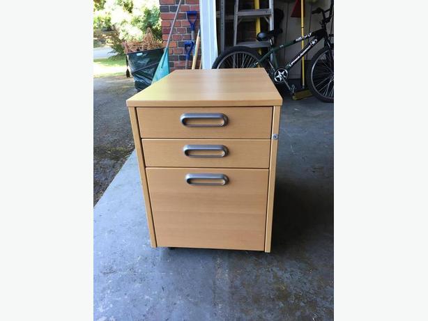 Three Filing Cabinets