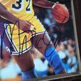 Magic Johnson Basketball plaque