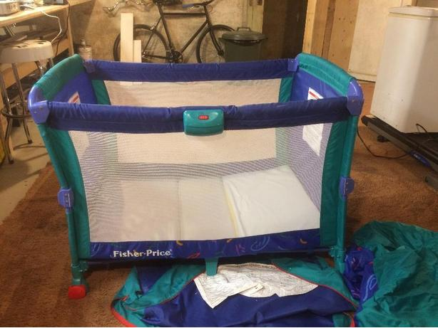 fisher price baby bed