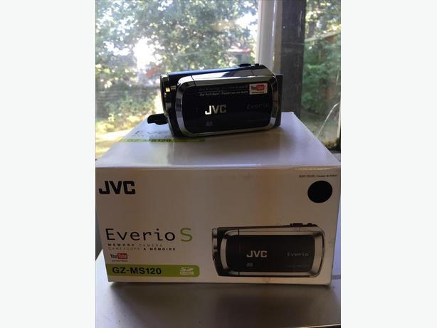 JVC Everio  MS120 Dual Flash Camcorder