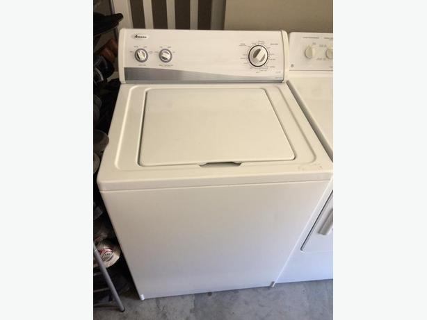 Amana washer and GE dryer- good condition