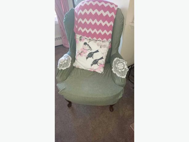 FREE: chair and slip cover