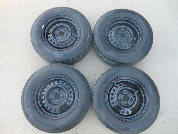 P195/70R14 Pirelli P4 Tires on Cavalier Steel Wheels