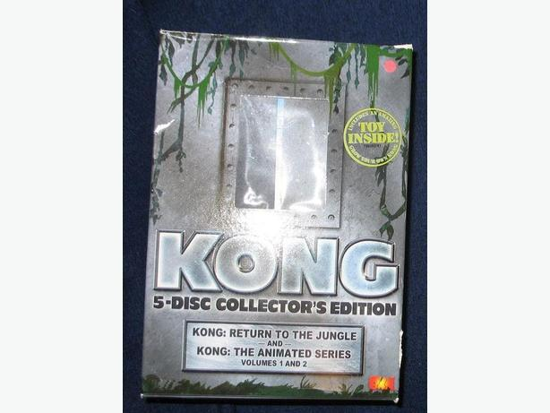 KONG - 5 disc Collectors Edition DVD