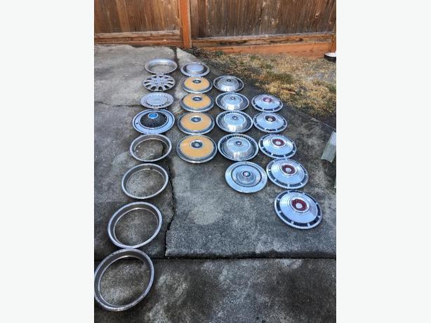 Various hubcaps