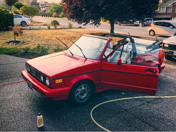 FOR TRADE: 1991 VW Cabrio