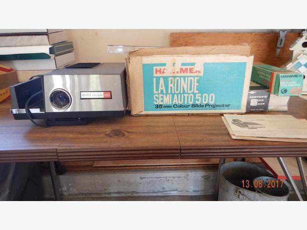 Misc vintage camera equipment
