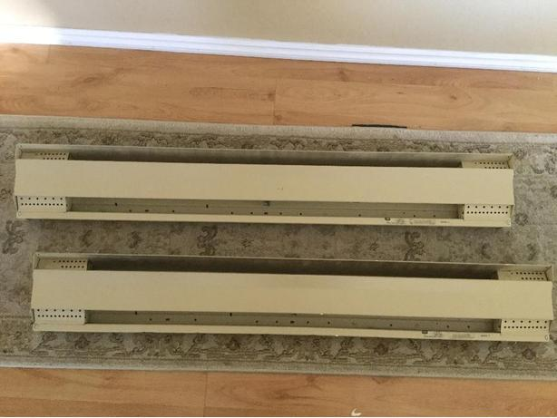 4 feet long 1000watt baseboards