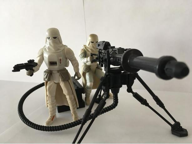 STAR WARS Snowtroopers with turret