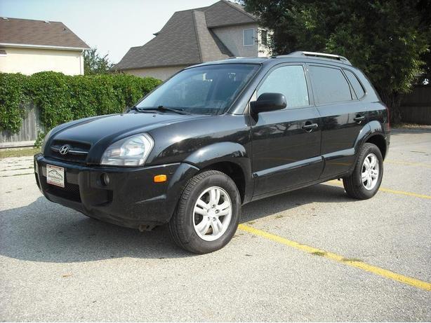 08 Hyundai Tucson Limited 4 Wheel Drive