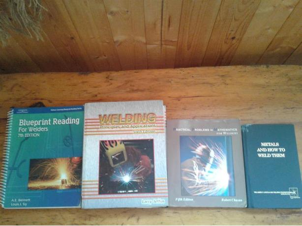 Collage welding book set