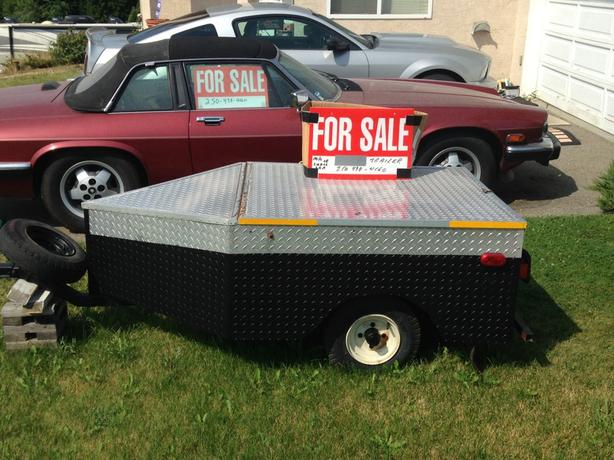 Mini Cargo Trailer For Motorcycle or Small Vehicle