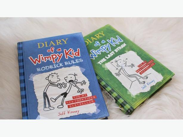 3 DIARY OF A WIMPY KID [ HARD COPY] BOOKS