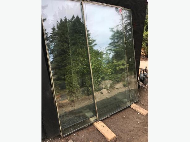 FREE: Double-pane exterior windows