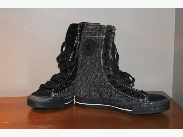 3f1f8edb4115 New black  dark grey High Top Converse (Never worn) Saanich