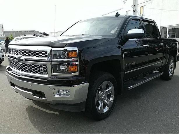 2015 Chevrolet Silverado 1500 LTZ LEATHER 4x4 NICE TRUCK !
