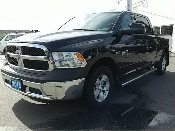 2015 Ram 1500 ST 4x4, Island Truck, Crew Cab One Owner
