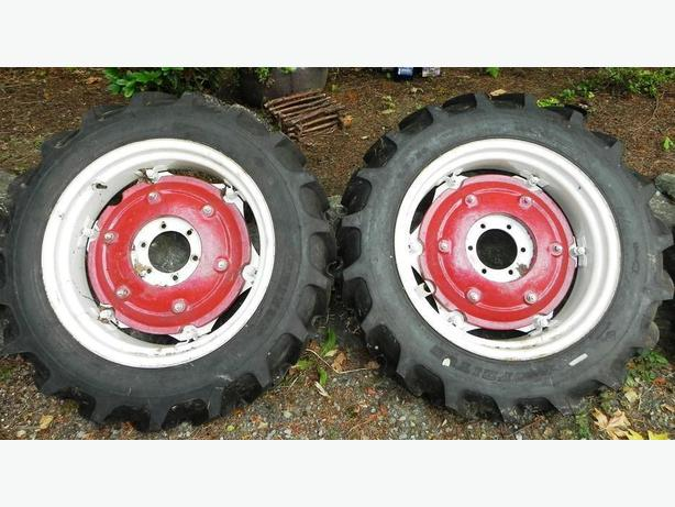 4 BRAND NEW Tractor tires mounted on NEW Jinma rims 2 sets of 2 each