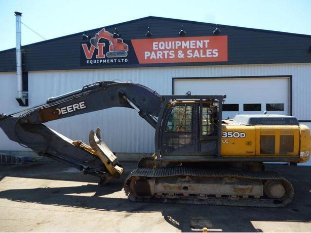 John Deere 350D LC Excavator Parts