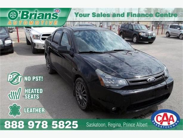 2010 Ford Focus SES No PST! w/Leather