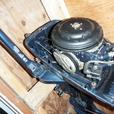 """Mid 80's Evinrude """"Deluxe"""" model regular shaft 4 HP"""