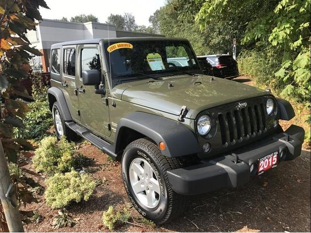 2015 Jeep Wrangler Unlimited SPORT **$300.00 Gas Card included**