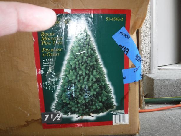 7 12 foot rocky mountain pine christmas tree - 7 1 2 Foot Christmas Tree