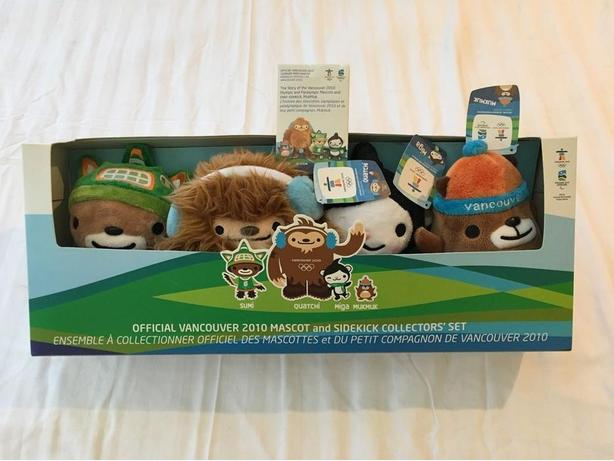 Vancouver 2010 Mascot and Sidekick Collection